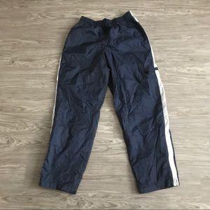 Vintage Nike men's navy blue Track Pants